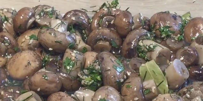 Рецепт приготовления шампиньонов по-корейски с фото