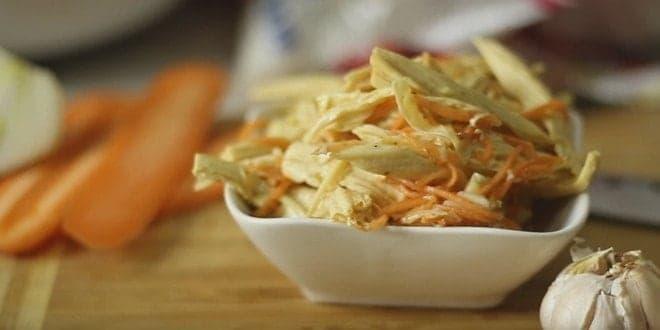 Рецепт приготовления спаржи по-корейски с фото