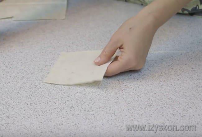 А вот самый простой рецепт тарталеток не из теста, а из готового лаваша.