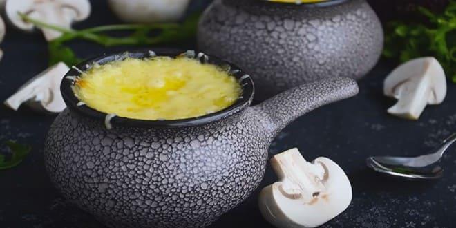 Пошаговый рецепт классического жульена с грибами