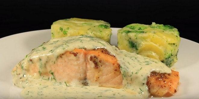 Как приготовить лосось в духовке по рецепту с фото