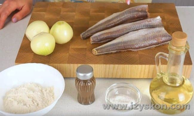 Предлагаем вашему вниманию рецепты приготовления хека на сковороде.