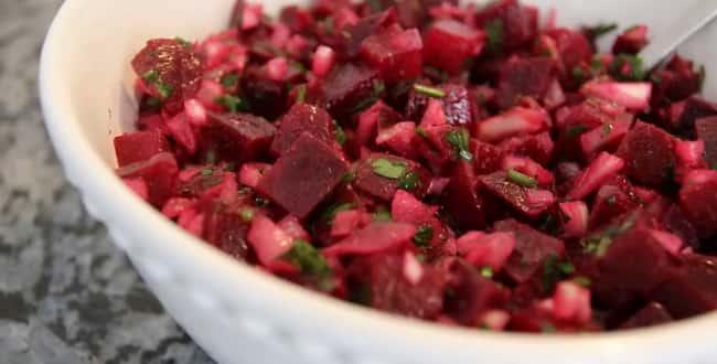 Постный марроканский салат 🍊 из свеклы — простой и вкусный