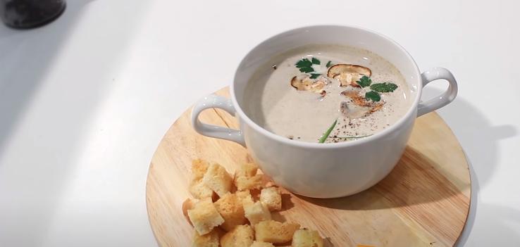 Суп пюре грибной — рецепты приготовления, диета
