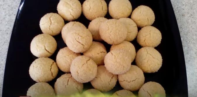 песочное печенье из трех ингредиентов